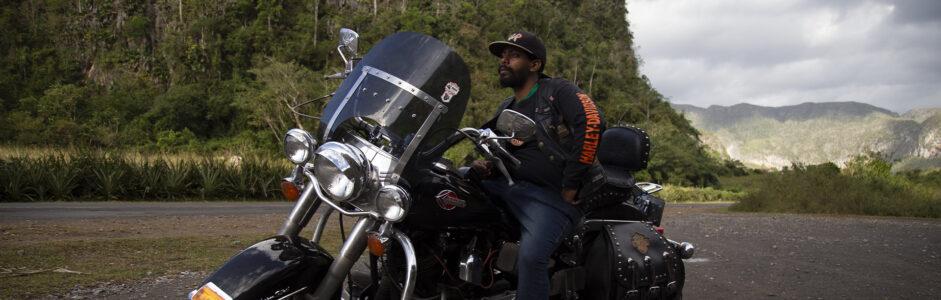 Harley a la cubana
